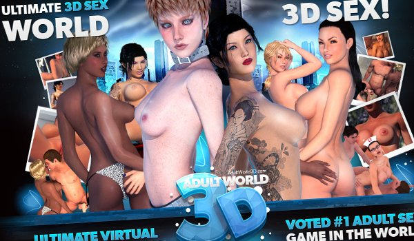 Phone sex game with animated 3d fuck