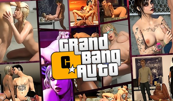 Gangster sex game with fucking in 3d world