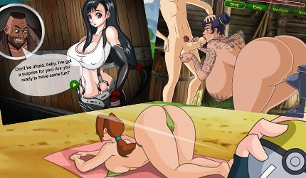 Play manga cartoon fuck games with 2d porn