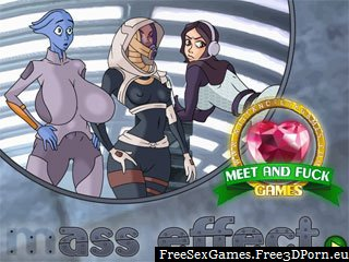 Ass Effect adult game with sexy butts