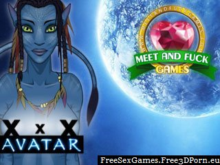 Avatar XXX game with porn avatars fucking hard