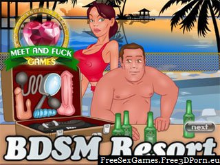 BDSM sex resort with a fetish vacation and pervert porn