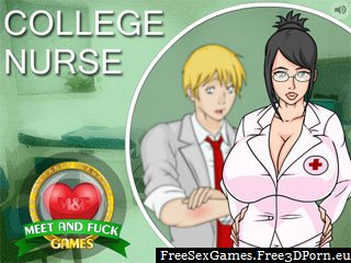 Hospital nurse porn game with nurse college fuck