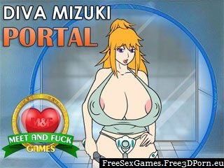 Diva Mizuki Portal with naked cartoon boobs