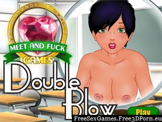 Double blowjob in a free erotic game
