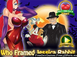 Jessica Rabbit fairy tale sex game with cartoon porn