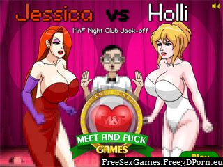 Jessica vs Holli meet and fuck adult flash games