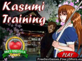 Hot Kasumi hentai anime game of Dead or Alive