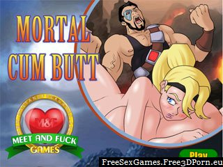 Mortal Cum Butt erotic version of Mortal Combat