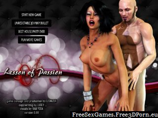 Virtual dating sex game with sexy Paula slut