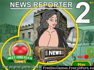 News Reporter 2 adult online sex game