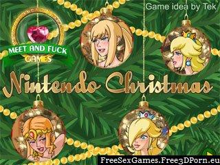 Nintendo Christmas lesbian sex game