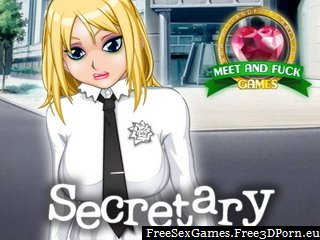Hentai Secretary fuck game with office sex