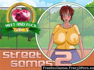 Street Games 2 with a skipping rope sex game