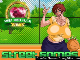 Street Games - bouncing tits in free sex game
