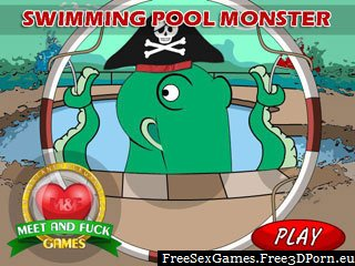 Swimming Pool hentai monster tentacle fucking game