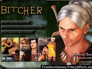 Epic adventure sex game with fantasy The Bitcher fuck