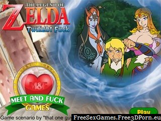 The Legend of Zelda Twilight Fuck online porn game