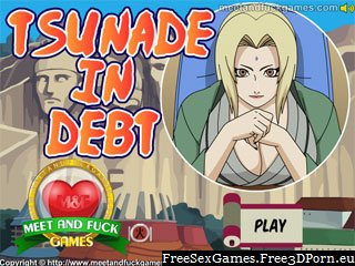 Tsunade nasty girl sucks two cocks at once