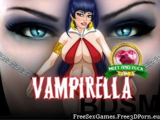 Vampirella BDSM fuck game with naughty vampire sex