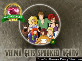 Velma Gets Spooked Again scooby-doo sex game