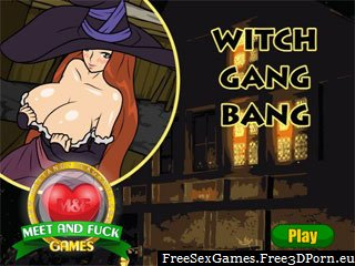 Witch Gang Bang hentai porn game