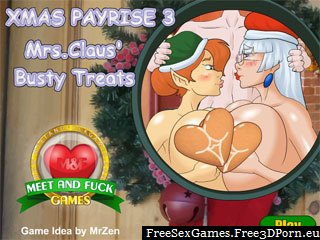 Xmas Pay Rise 3 sex game with elves