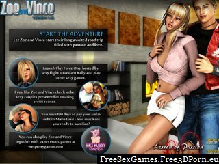 play adventure porn game with young zoe and vince